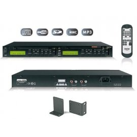 Doble reproductor CD/USB/SD...