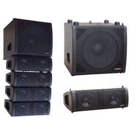 Line array Autoamplificado...