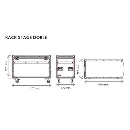Baul Work Rack Stage Doble