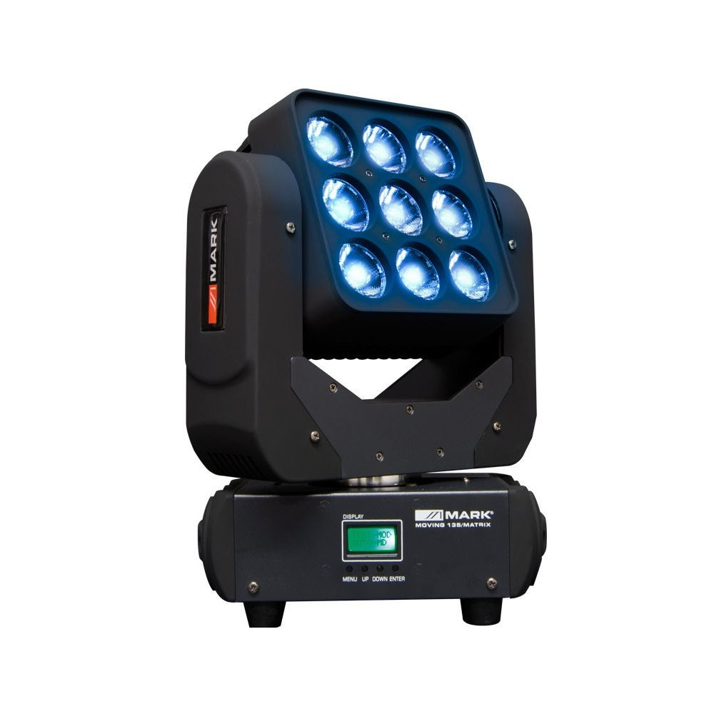 Cabeza Movil Wash LED MARK Moving 135 Matrix