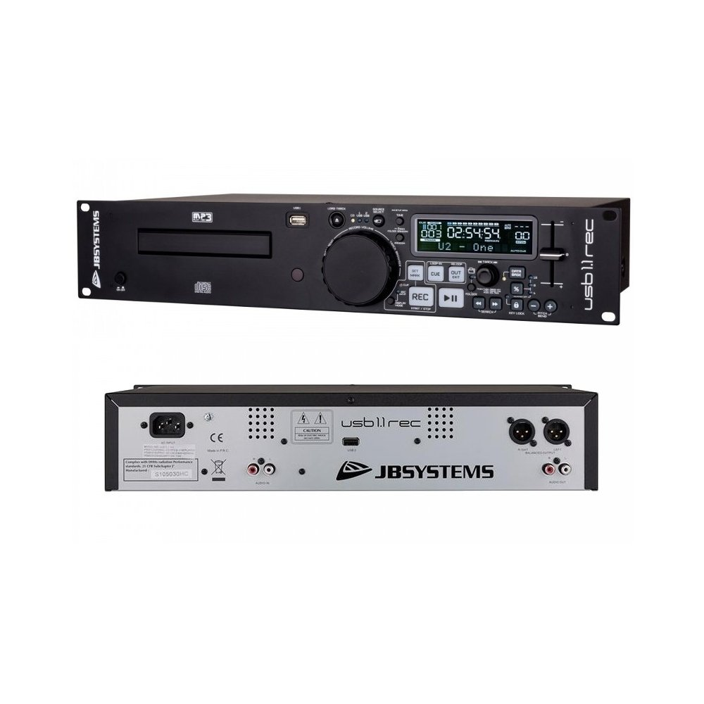 Reproductor JB Systems USB-1.1REC