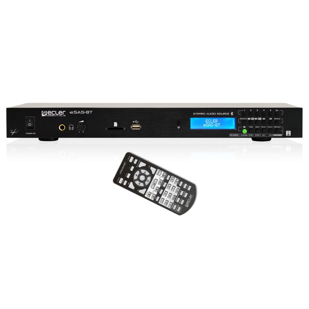 Reproductor USB/SD/FM Ecler eSAS-BT