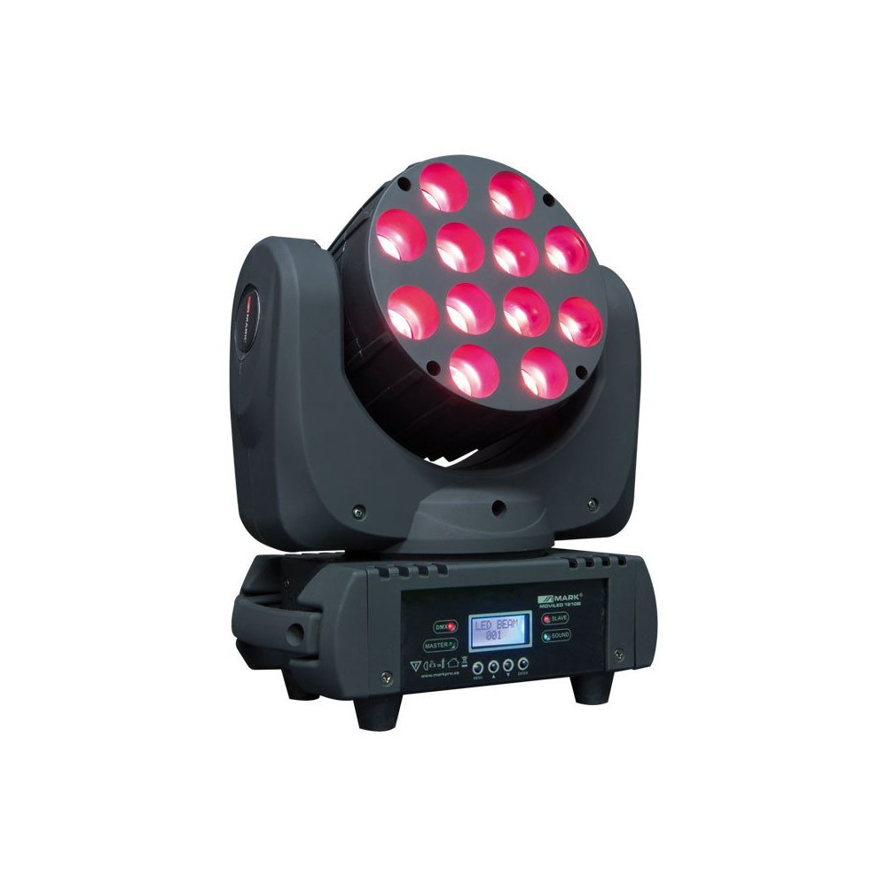 Cabeza Movil Wash LED RGBW MARK MOVILED 1210B