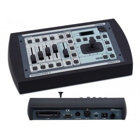 Consola DMX 64 canales WORK SCAN Player II