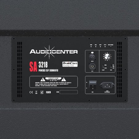 Subwoofer autoamplificado Audiocenter SA-3218