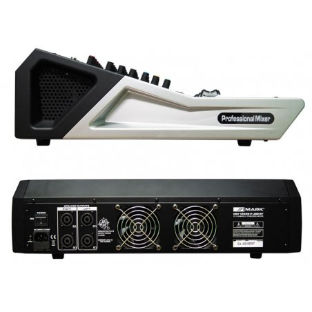 Mezclador Autoamplificado MARK MM 12599 P USB BT