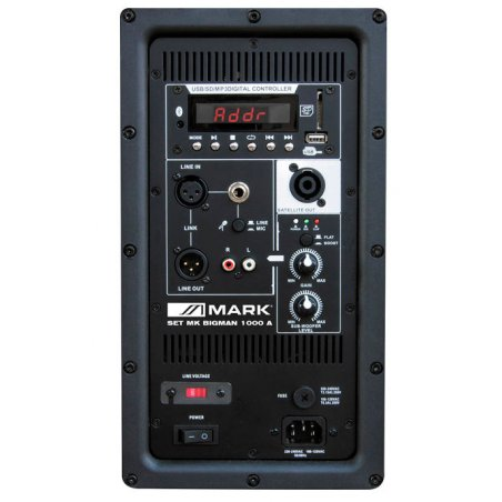 Pack autoamplificado Mark SET MK BIGMAN 1000 A