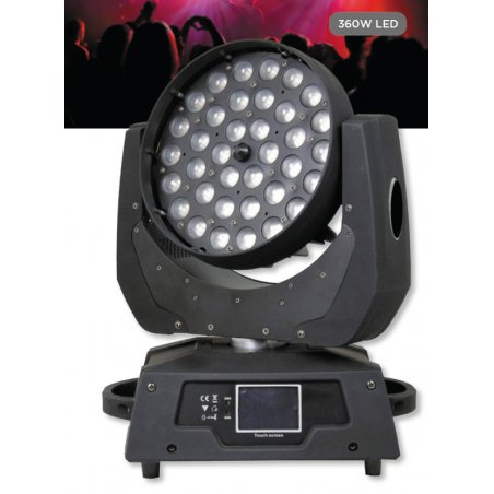 Cabeza Movil LED RGBW ProLight LT 3610 W Zoom