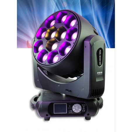 Cabeza Movil LED 12x40W RGBW ProLight LT PIXEL WASH 500