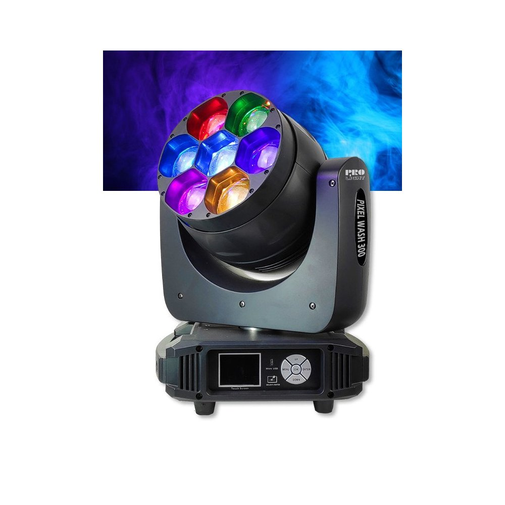 Cabeza Movil LED RGBW ProLight LT PIXEL WASH 300