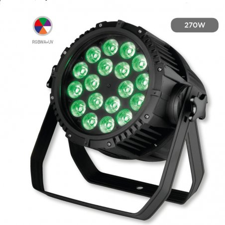 Foco de Led IP-65 270W ProLight PAR 270 OUTDOOR 6 EN 1